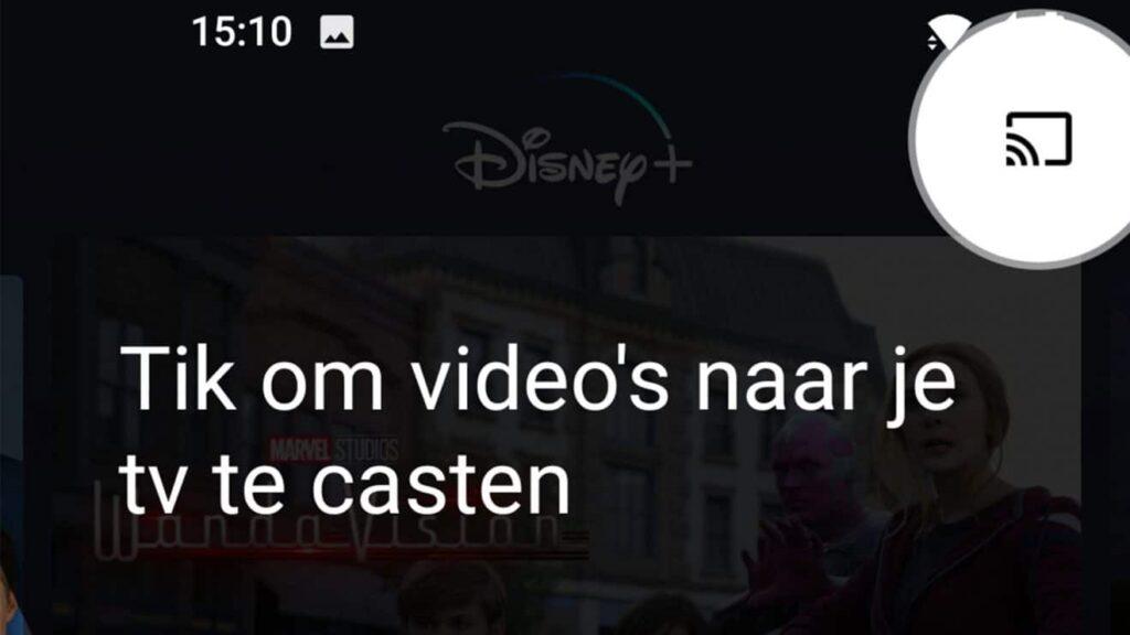 Chromecast Disney